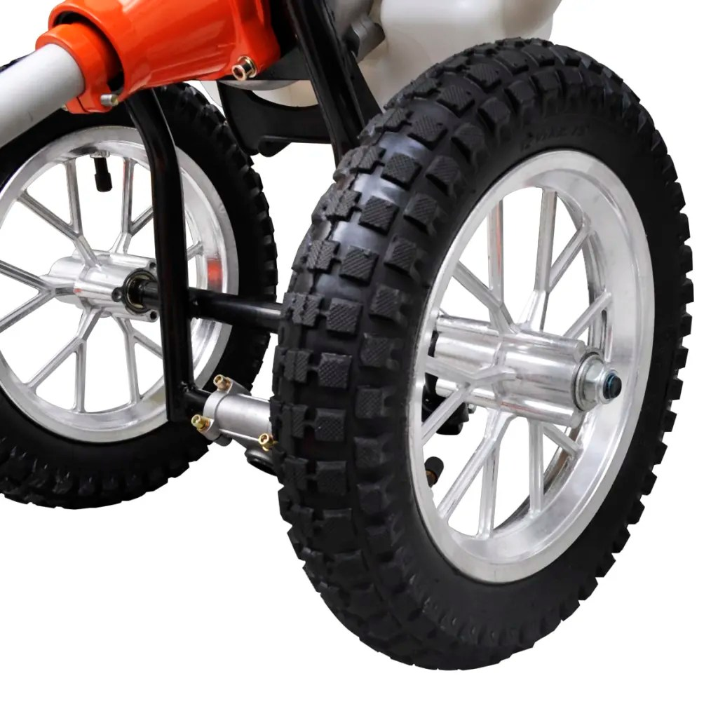 Action Wielen Vidaxl.co.uk | Brush Cutter Grass Trimmer 2-stroke Wheels