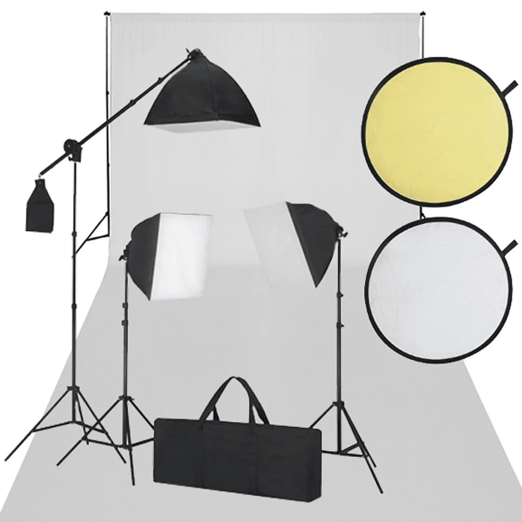 Eclairage Photo Studio La Boutique En Ligne Kit Studio Fond Blanc And éclairage