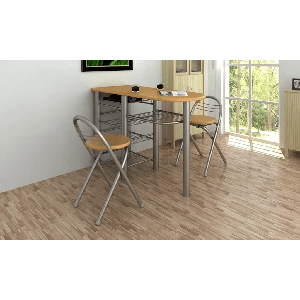 Stühle Küchentheke Vidaxl Co Uk Kitchen Breakfast Bar Table And Chairs