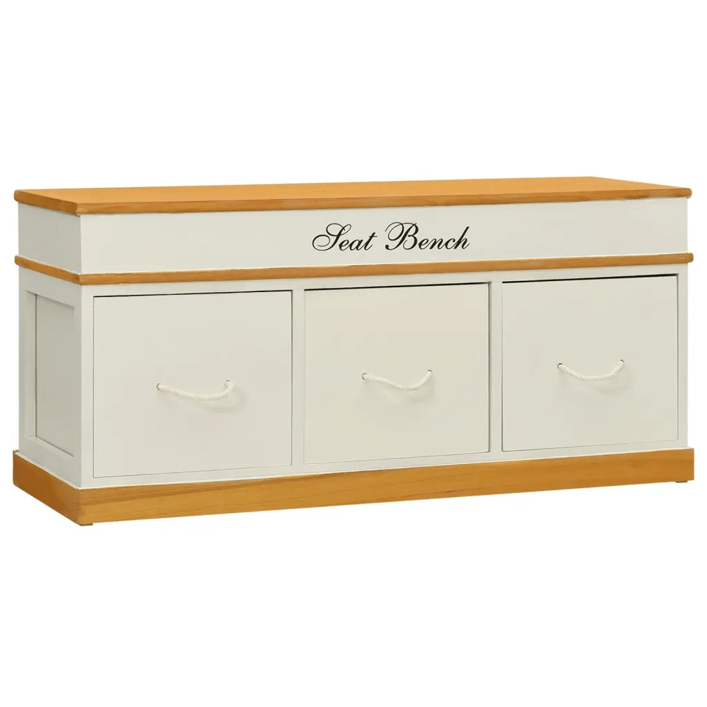 Storage Bench Shoe Cabinet Entryway Bench