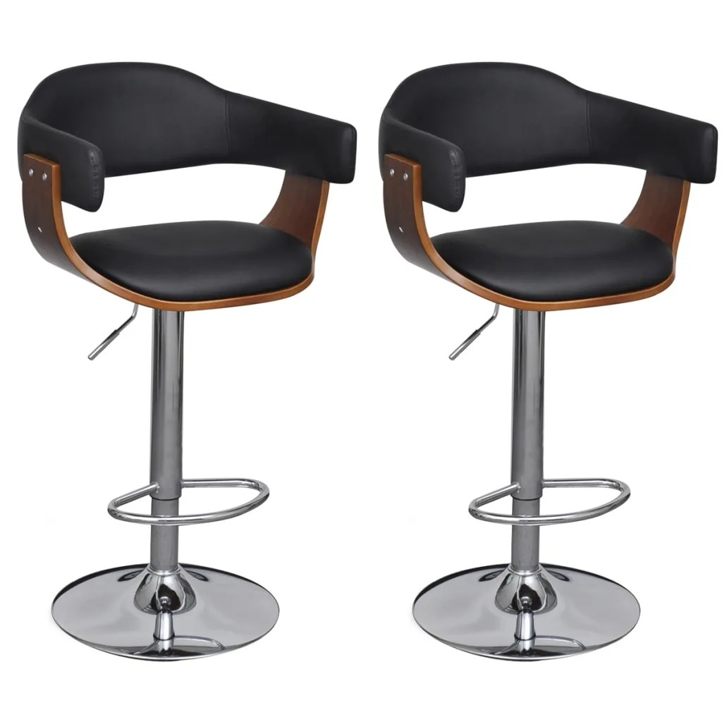 Leather Bar Stools Australia Artificial Leather Bar Stool Height Adjustable Backrest