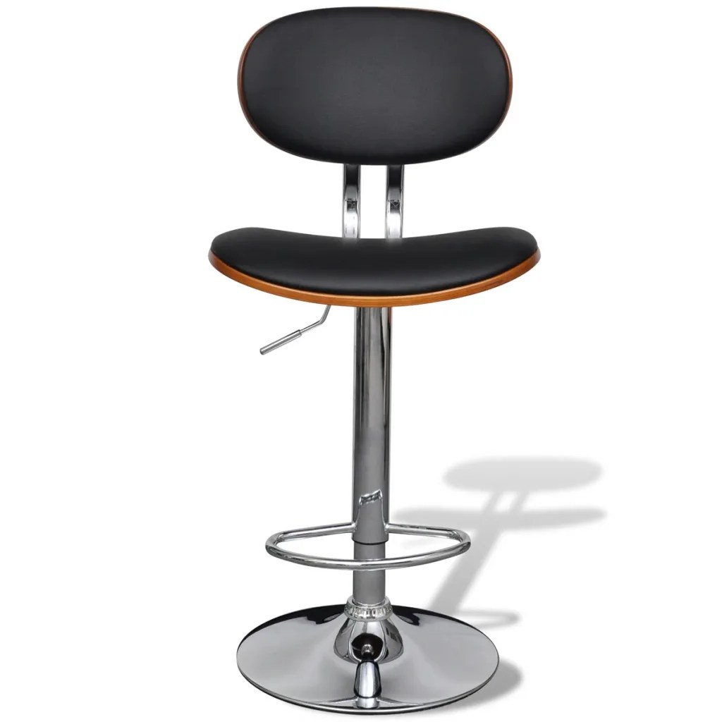 Leather Bar Stools Australia Artificial Leather Bar Stool Height Adjustable With