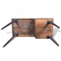 vidaXL.co.uk | Reclaimed Wood Desk with Iron Legs