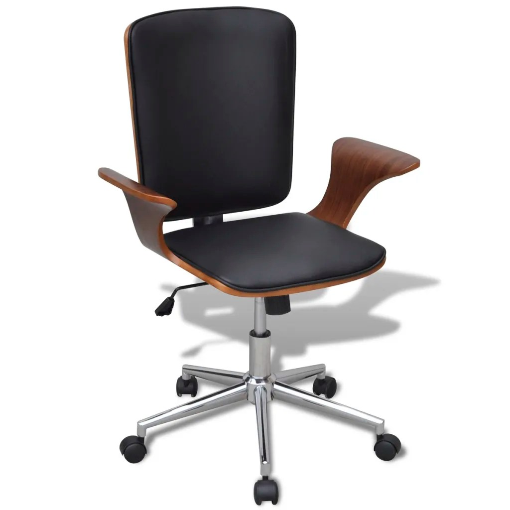 Bentwood Chairs Melbourne Swivel Office Chair Bentwood With Artificial Leather
