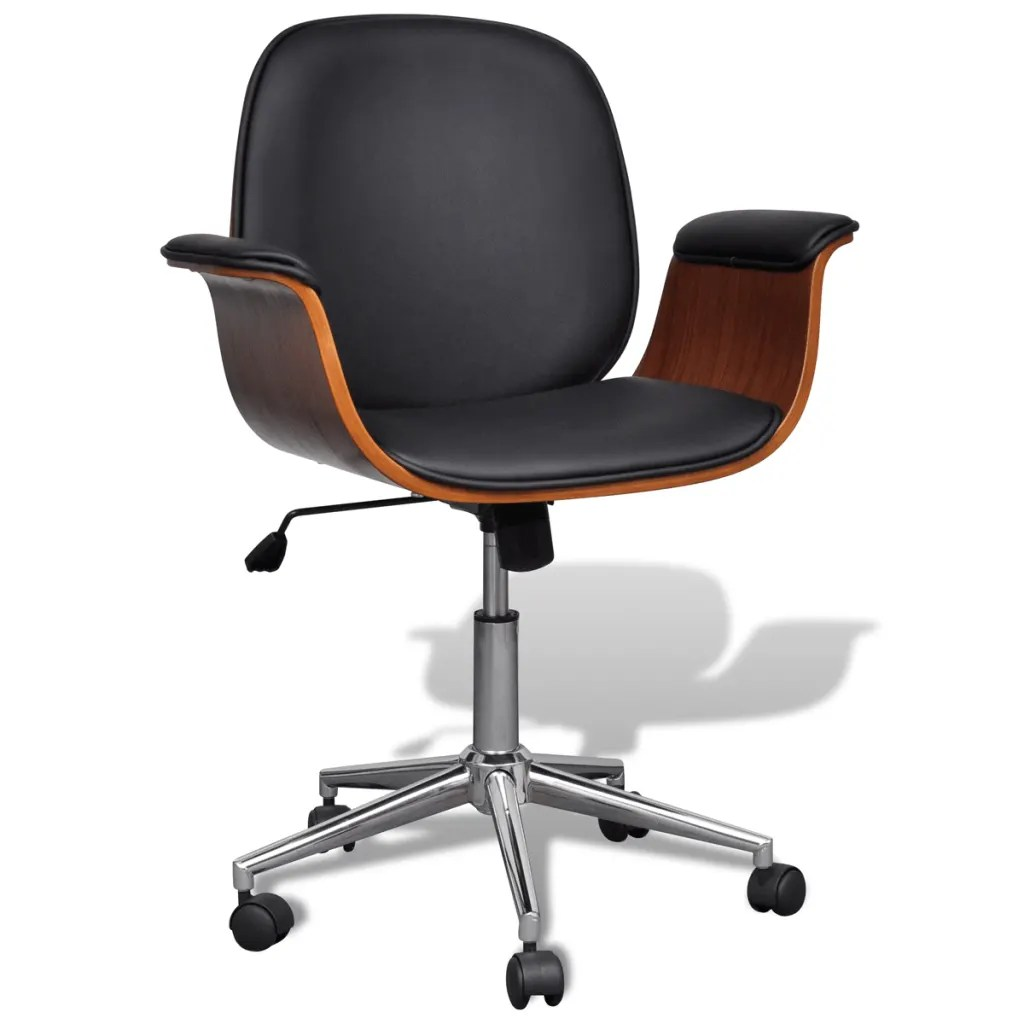 Ergonomic Swivel Office Chair Adjustable Swivel Office Chair Artificial Leather Www
