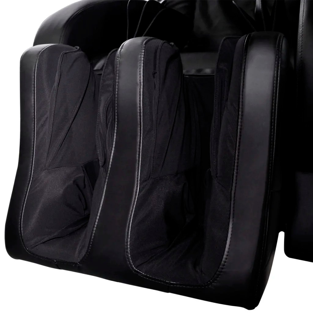 Electric Recliner Leather Chairs Electric Artificial Leather Recliner Massage Chair Black