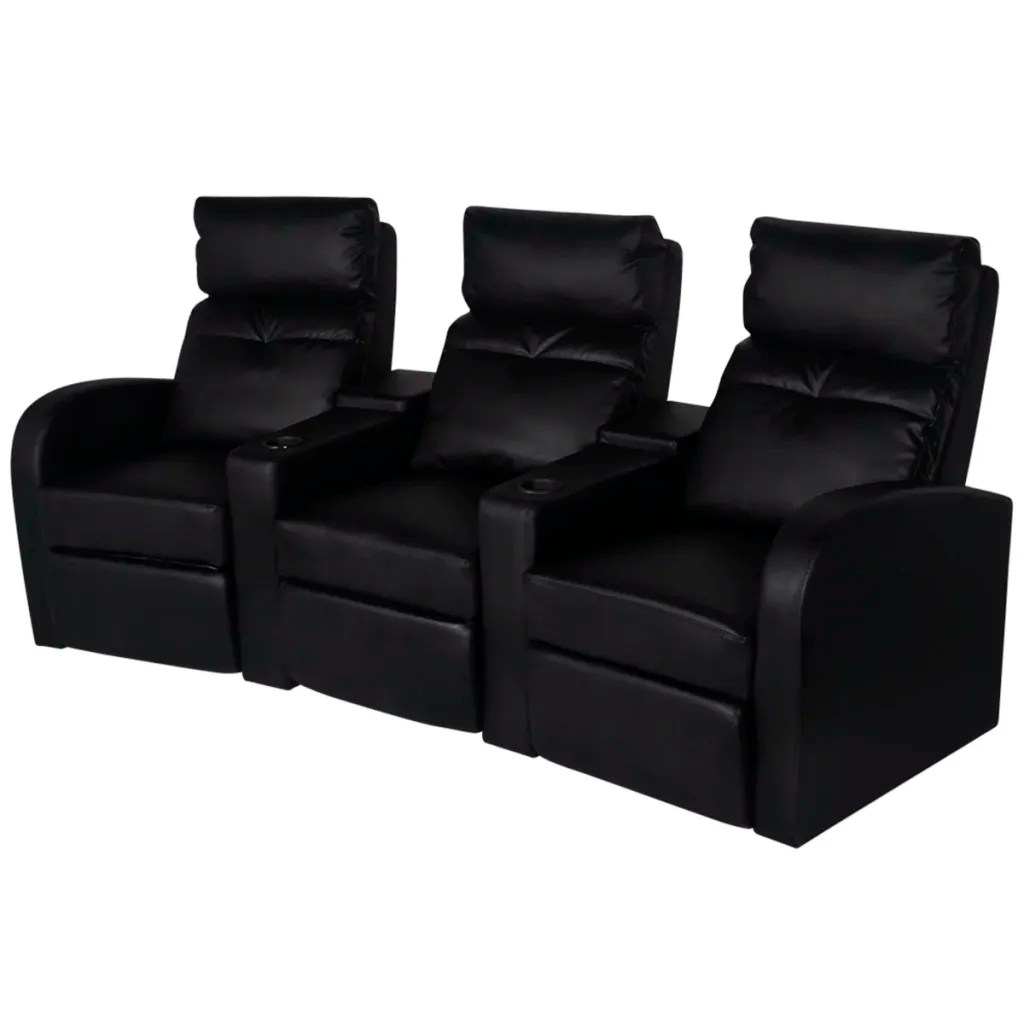 Kinosessel Couch Fernsehsessel Kinosessel Relaxsessel Heimkino Liege Sofa 3