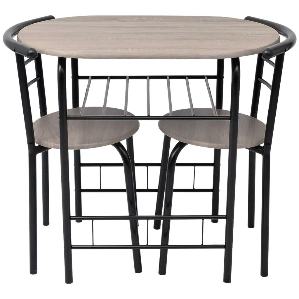 Living Room Stools Uk Breakfast Bar Table And 2 Chairs Stools Set Dining Room