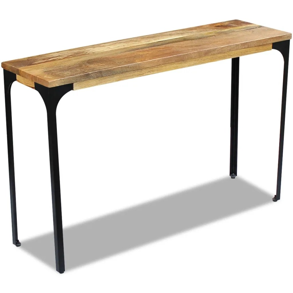 Table Consoles Vidaxl Co Uk Vidaxl Console Table Mango Wood 120x35x76 Cm