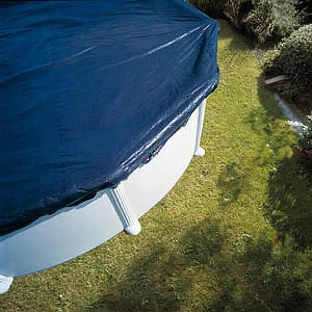 Poolabdeckung Begehbar Rund Vidaxl Co Uk Gre Swimming Pool Cover Winter Cover Dia