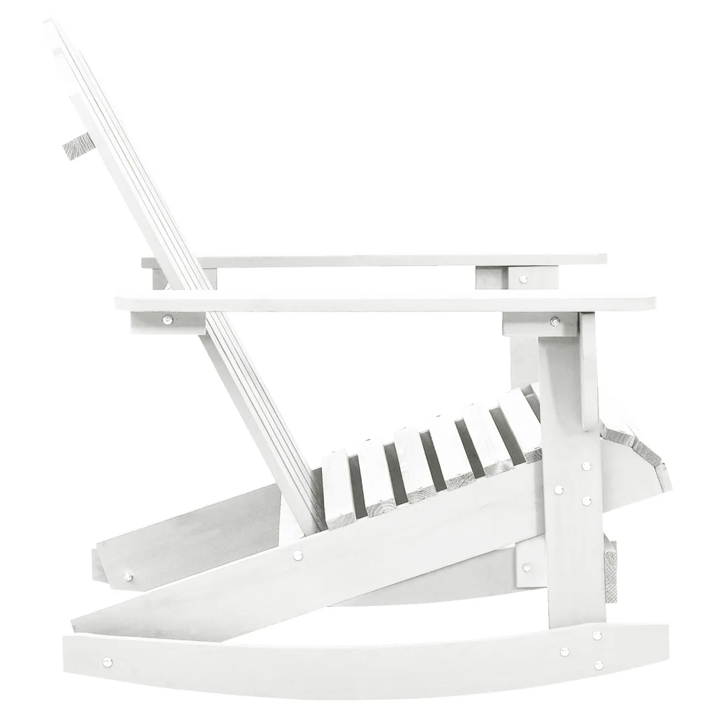 White Wooden Rocking Chairs For Sale Vidaxl Co Uk Wood Rocking Chair White