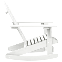 vidaXL.co.uk | Wood Rocking Chair White
