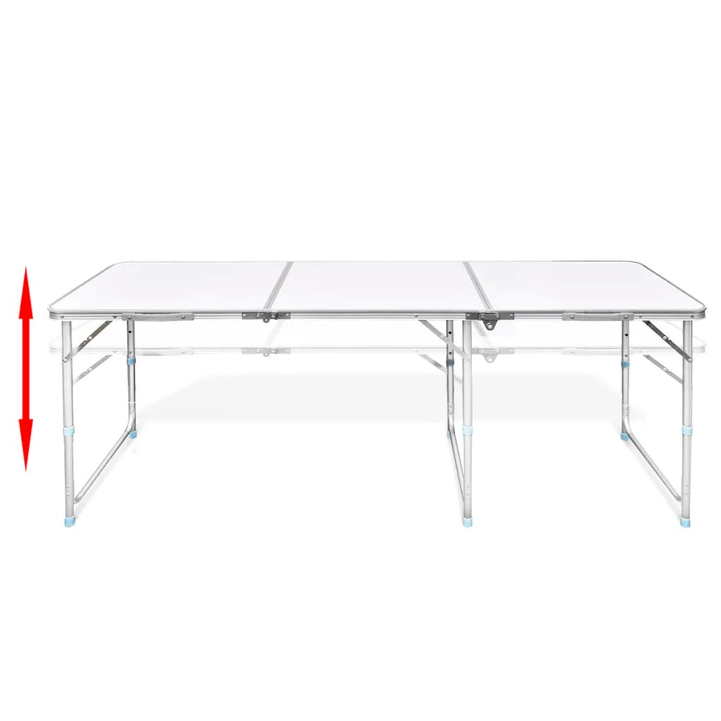 Table Hauteur Ajustable La Boutique En Ligne Table Pliante De Camping En Aluminium