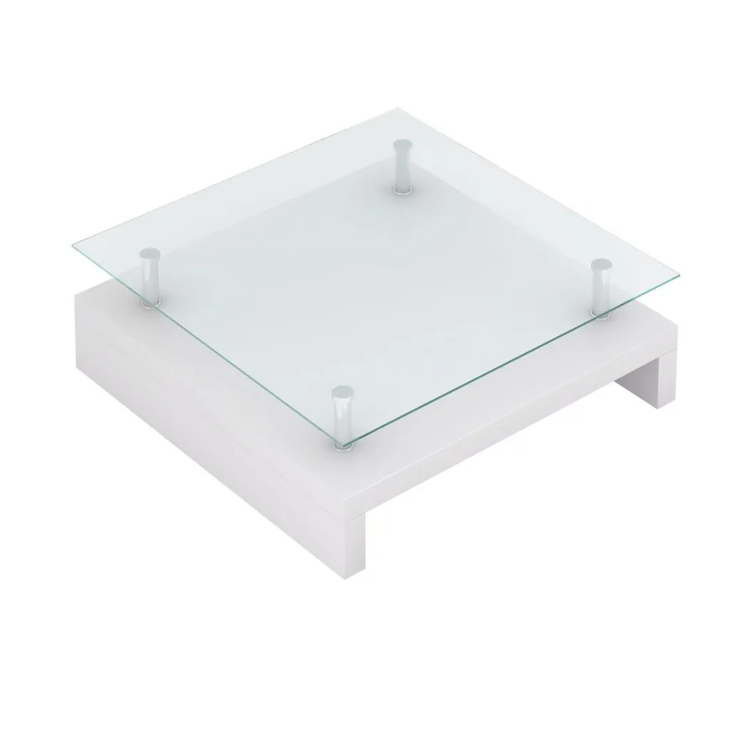 Couchtisch 1mx1m Vidaxl Co Uk Glass Coffee Table Square White