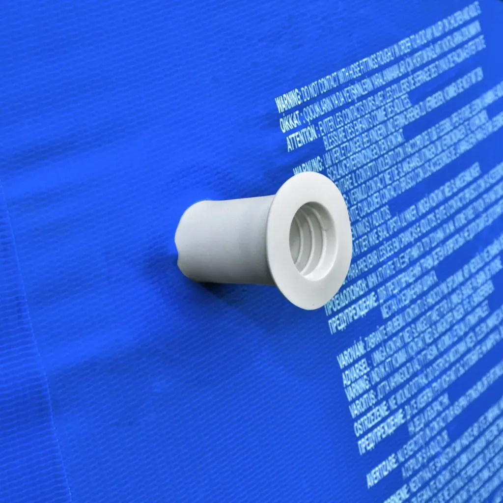 Pool Polyester Rund Vidaxl Co Uk Round Swimming Pool With Steel Frame Blue