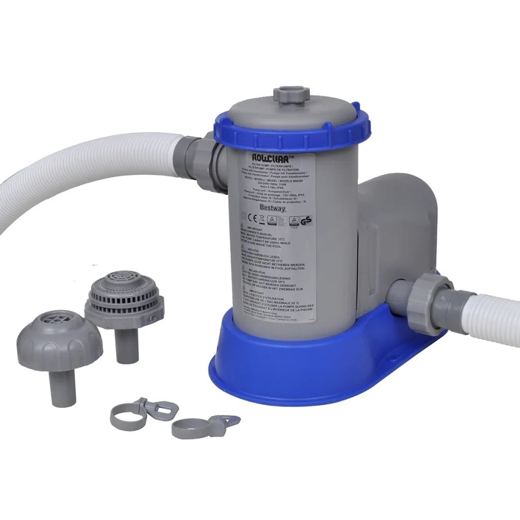 Pool Pumpe Anschließen Anleitung Bestway Vidaxl Co Uk Bestway Flowclear Swimming Pool Filter Pump