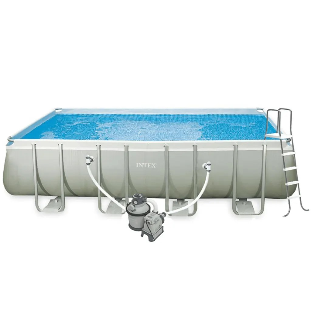 Pool Abdeckplane 549 X 274 Intex Ultra Frame Rechteckiger Pool Set 549 X 274 X 132 Cm