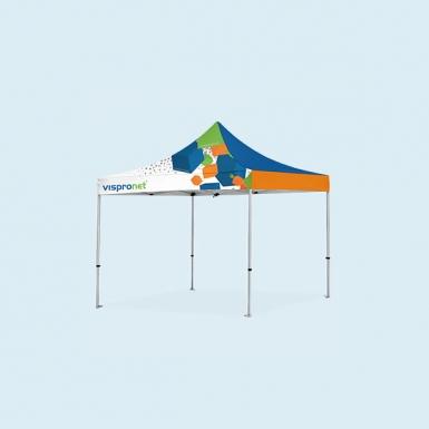 10x10 Pop Up Tent w/ Full Print | Custom Advertising Canopies