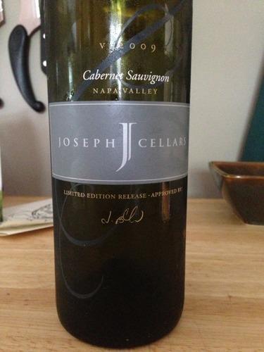 Joseph Cellars Napa Valley Cabernet Sauvignon 2009 Wine Info