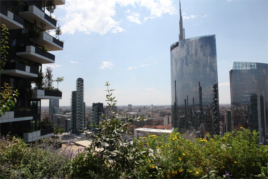 Appartamenti giardino verticale milano nuovo e moderno