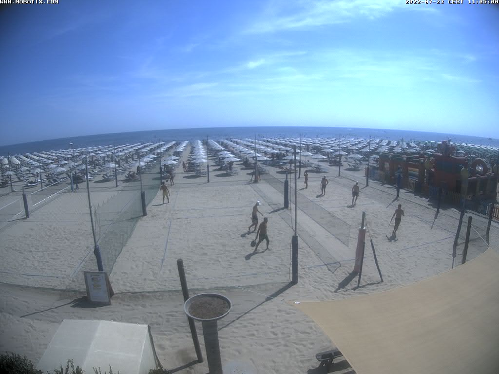 Bagno Fantini Cervia Webcam Cervia: Beach Panorama