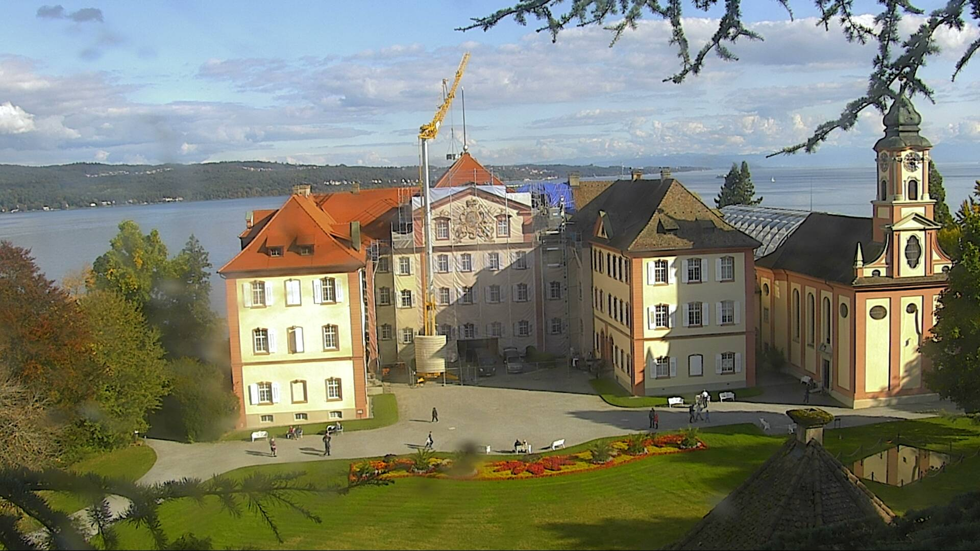 Webcam Ludwigsburg Webcam Mainau Island: Mainau Palace