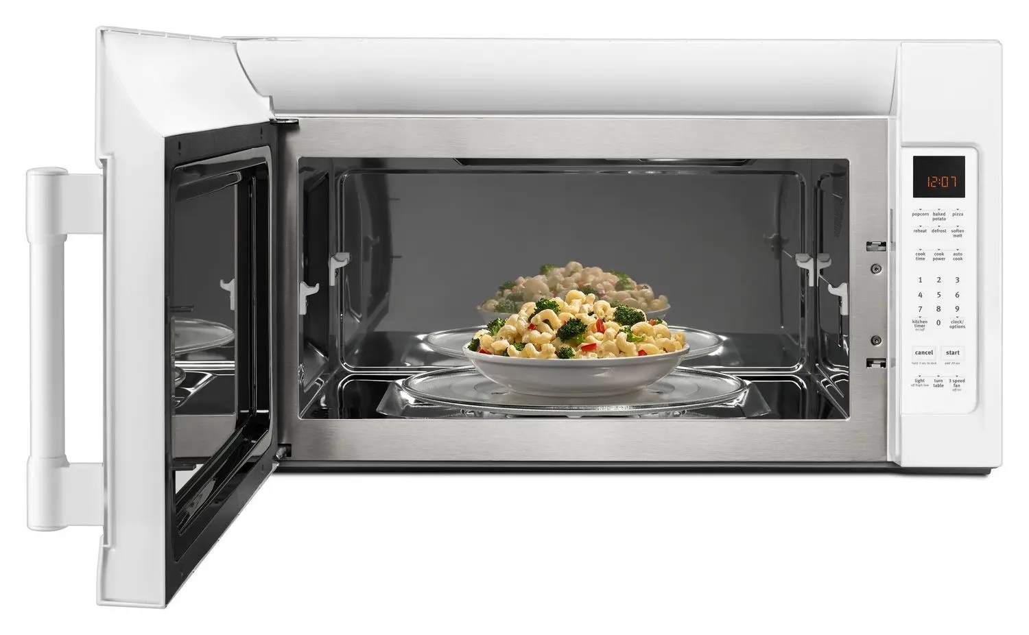 Mmv4206fw Maytag Over The Range Microwave With Interior Cooking Rack 2 Cu Ft White White Manuel Joseph Appliance Center
