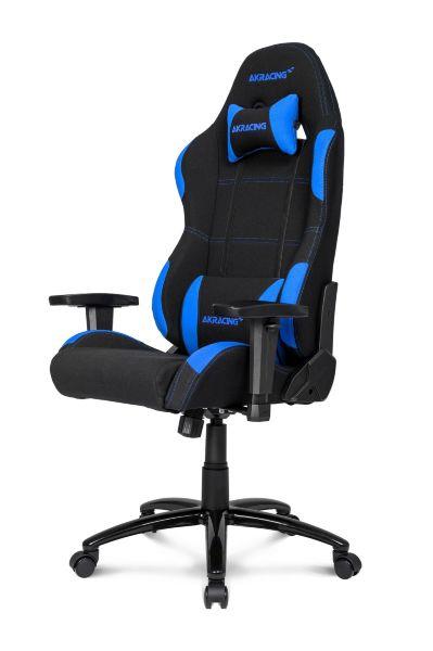 Akracing Gaming Chair Svart Bla Gamingstolar