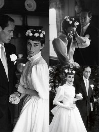 Iconic Wedding Dresses : Audrey Hepburn | The Wedding ...
