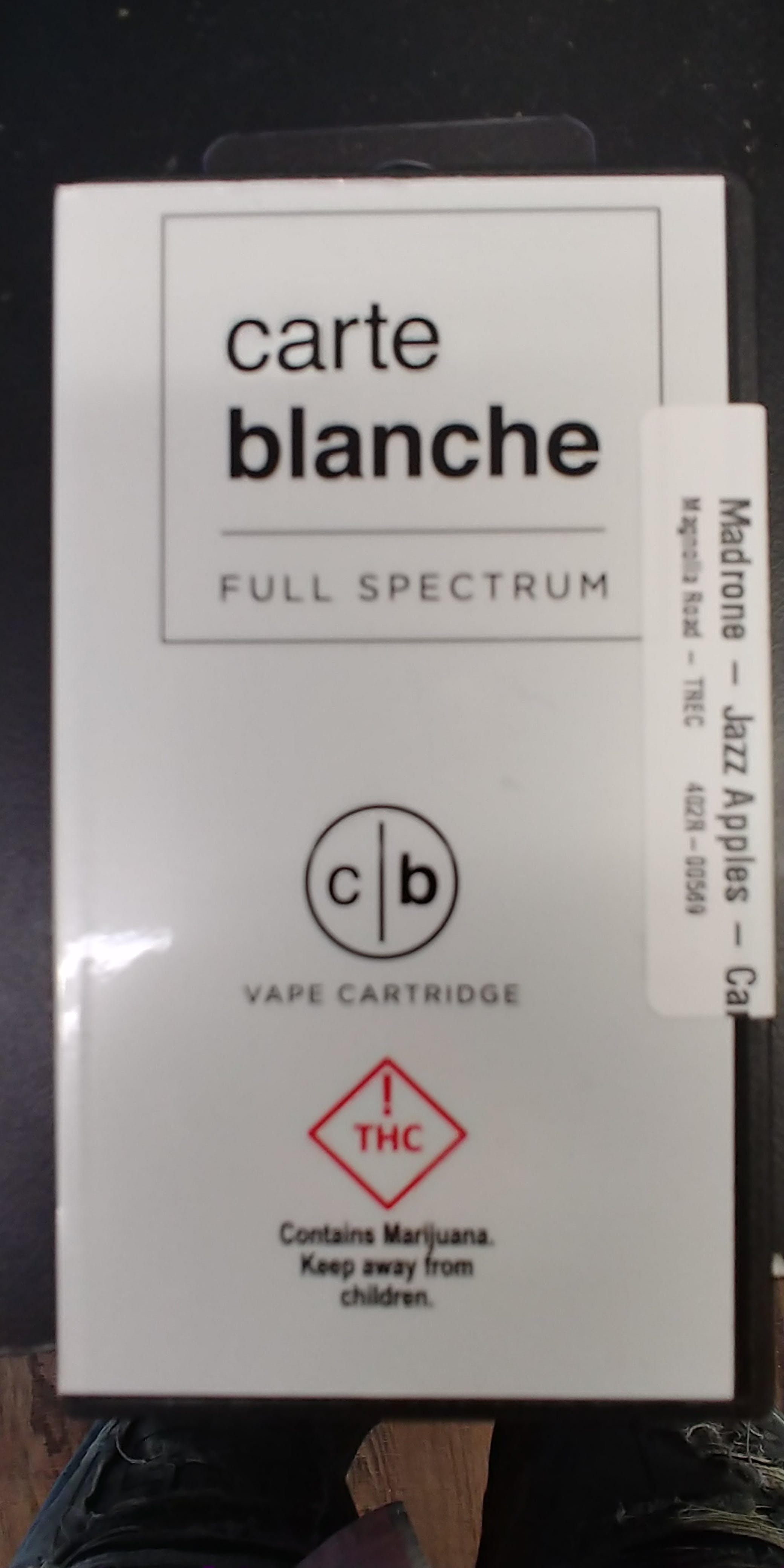 Carte Blanche Cartridges Magnolia Road Cannabis Co Menu Page 2 Of 6