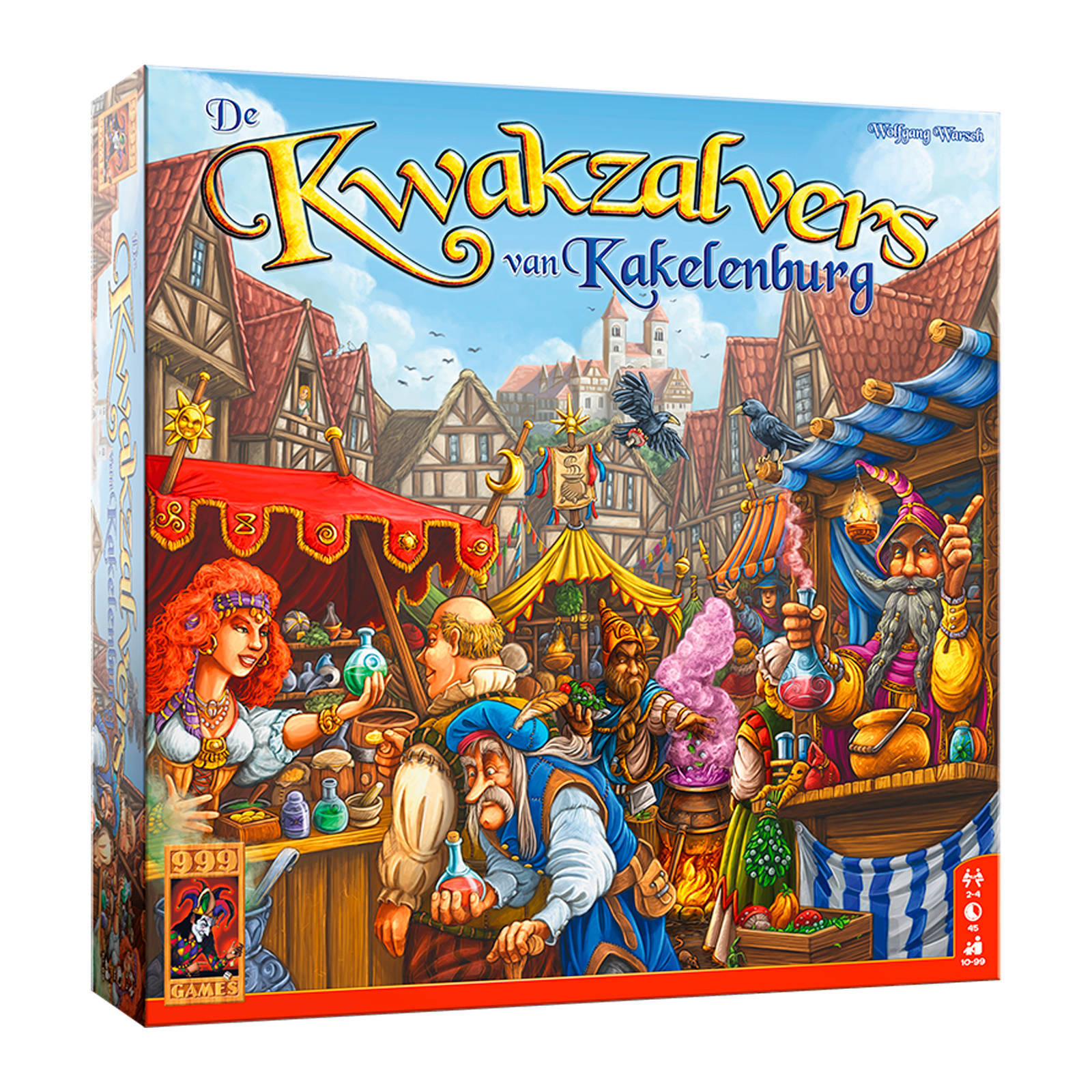 999 Games Kwakzalver Bordspel