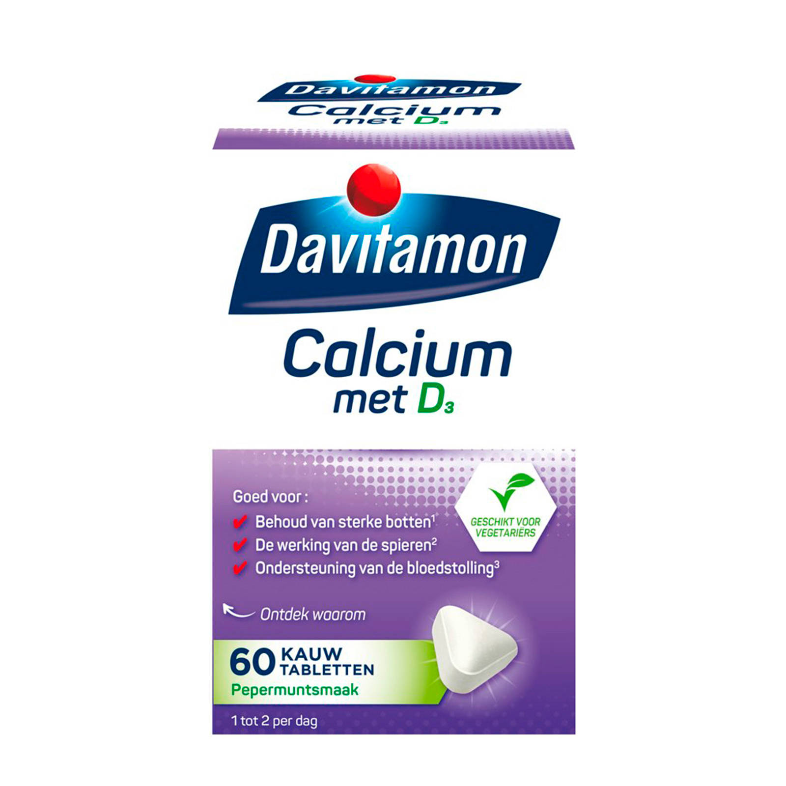 Calcium Tabletten Calcium Vitamine D 60 Tabletten