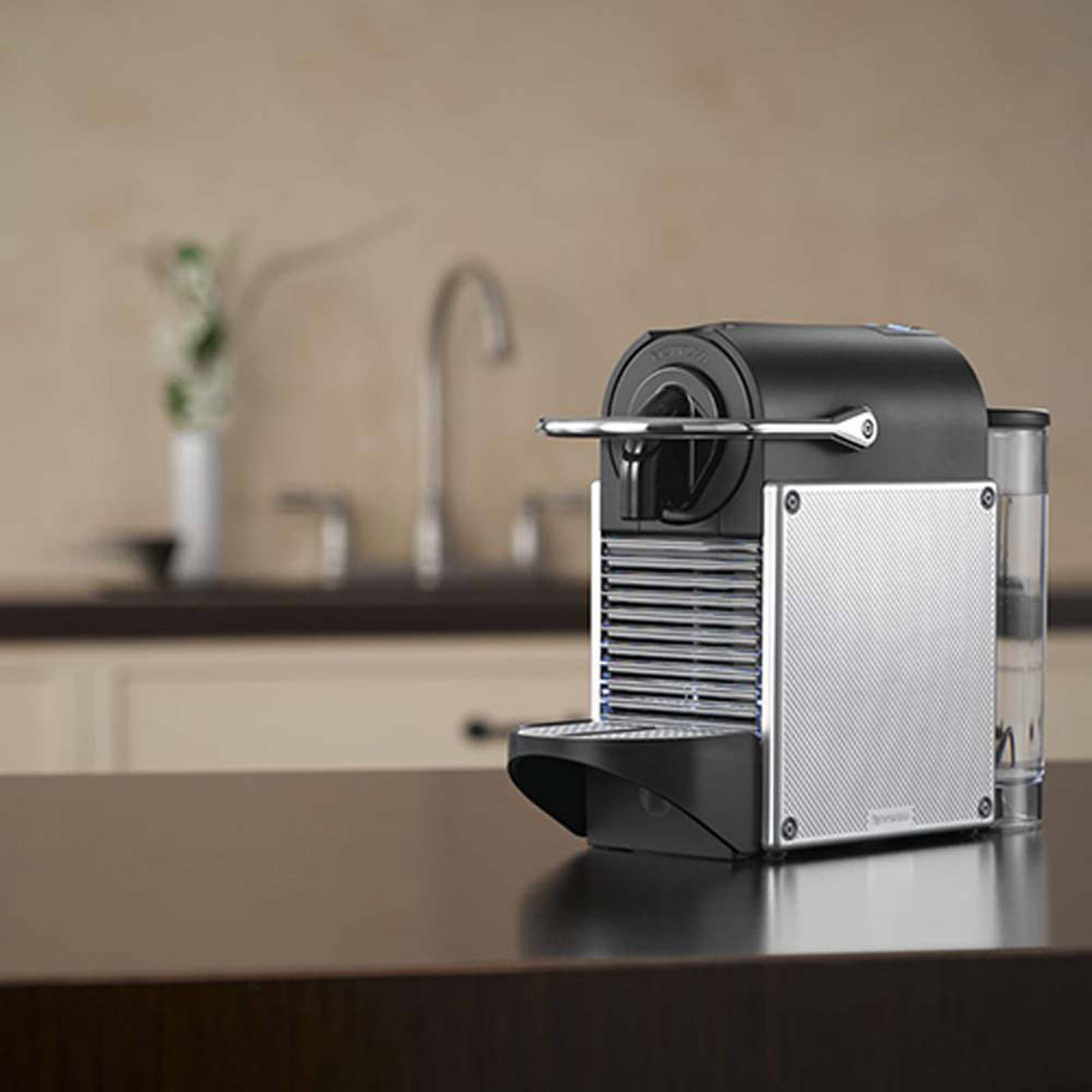 Nespresso Goedkoop Pixie Electric Aluminium M110 Nespresso Machine