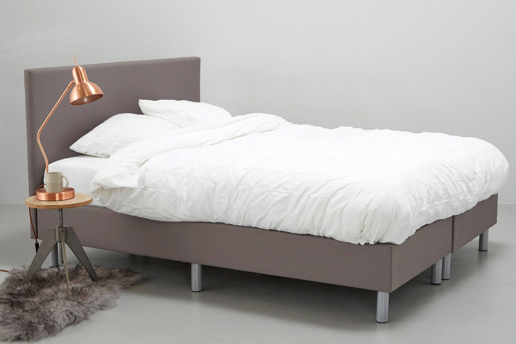 Complete Bedden Aanbieding Complete Boxspring Larvik 160x200 Cm