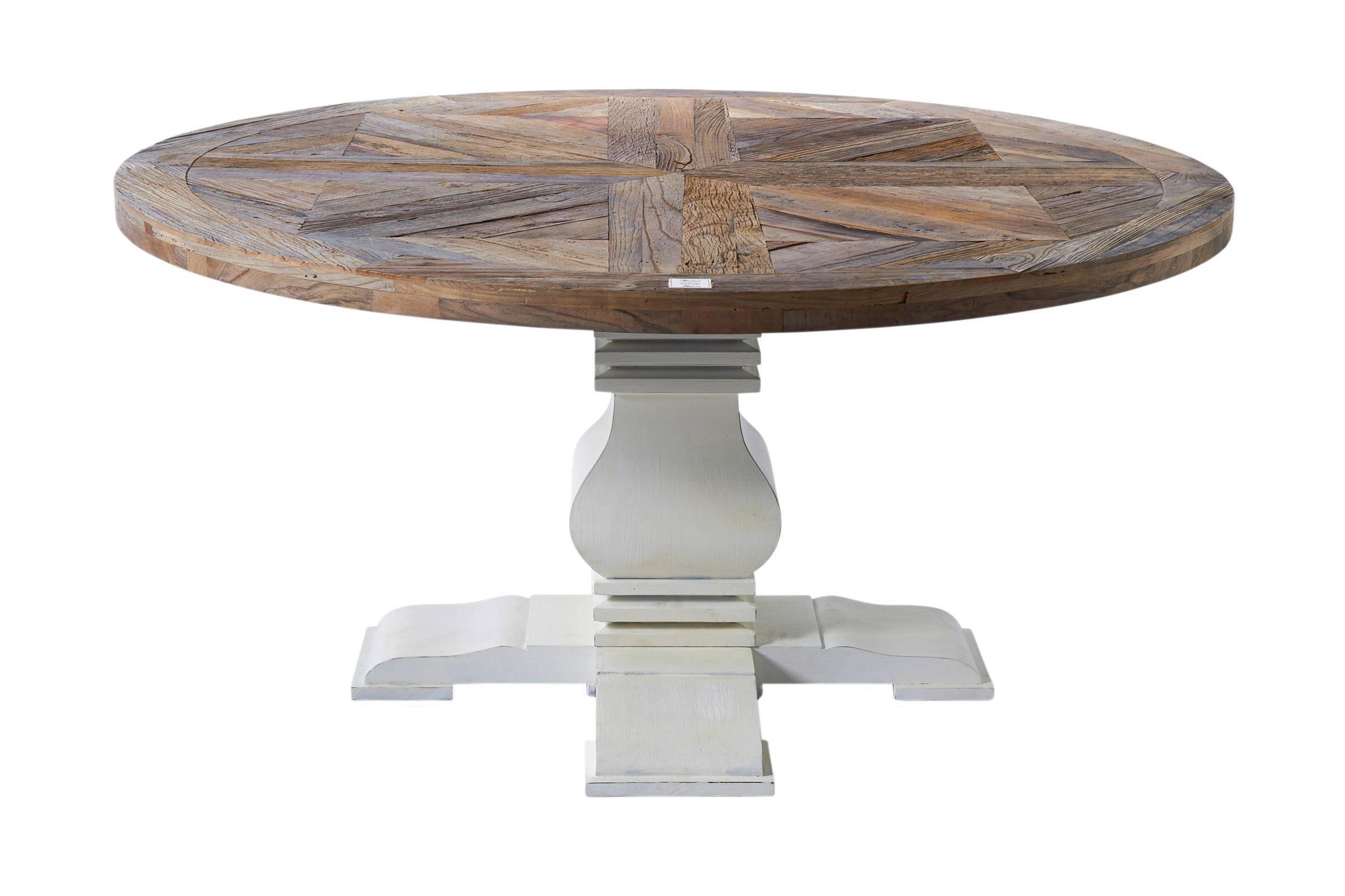 Eettafel jenna set van eetkamerstoelen jenna met halfopen rug wit