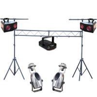 DJ Disco Lighting Package Kit 1 | WhyBuyNew