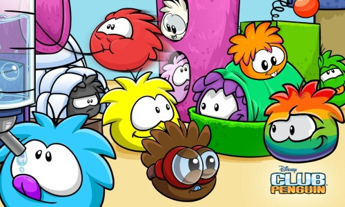 - Club Penguin Puffle Wallpaper Puffle Party 2013.png - Club Penguin ...