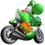 Mario Kart Wii Yoshi