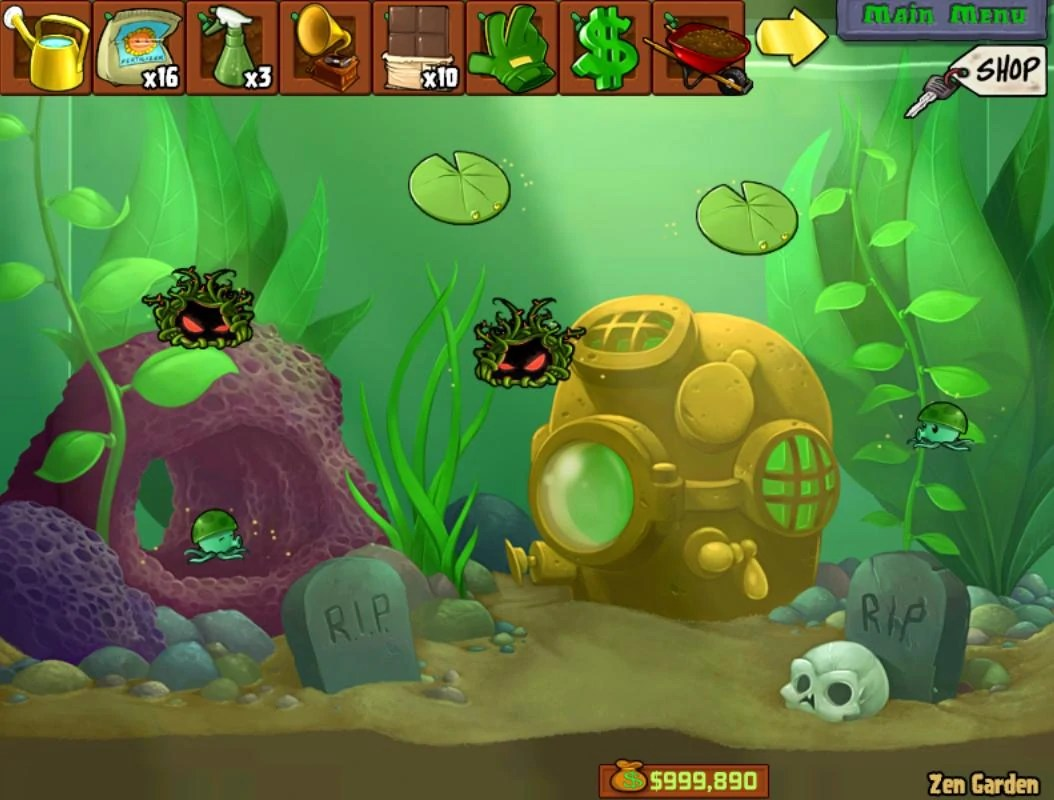 Zen Garten Plants Vs Zombies Zem Garden Plants Vs Zombies
