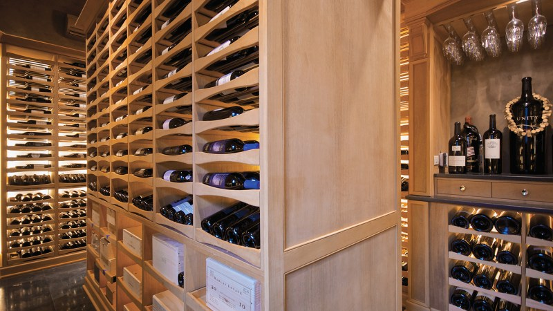 Wine Cellar Built In A Pool House Private Cellars