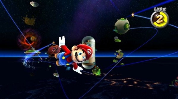Super Mario Galaxy - buco nero