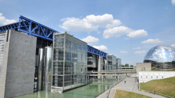 La città della scienza e dell'industria di Parigi.