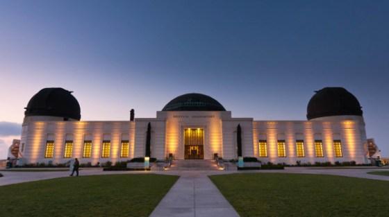 L'osservatorio di Griffith a Los Angeles, in California.