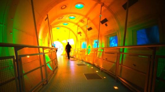 Il centro 'Our dynamic Earth' a Edimburgo, in Scozia.