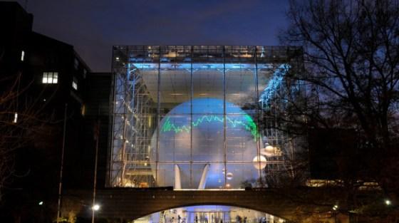 Il planetario di Hayden a New York.