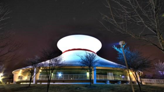 Il Centro della scienza di Saint Louis, in Missouri.