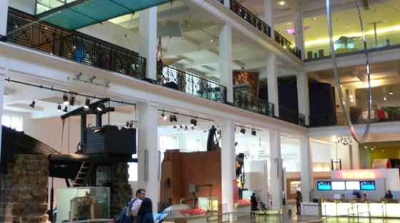 Il Museo della scienza di Londra.