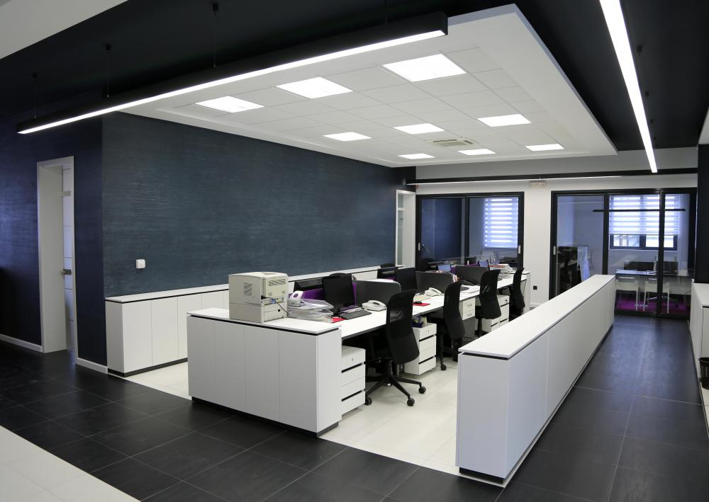 Bureau Professionnel Nice What Is Office Landscape? (with Pictures)