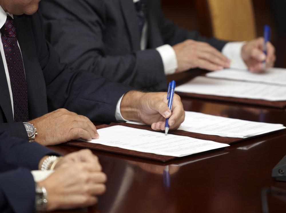 What is a Federal Affidavit? (with picture) - how to write a legal affidavit