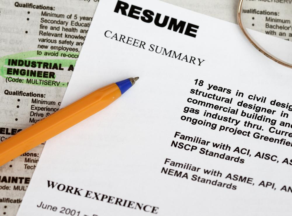 What are Common Electrical Interview Questions? (with pictures) - resume interview questions